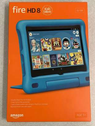 """Amazon Fire HD 8 Kids Edition Tablet 32GB 8"""" Display 2020 Blue image 1"""