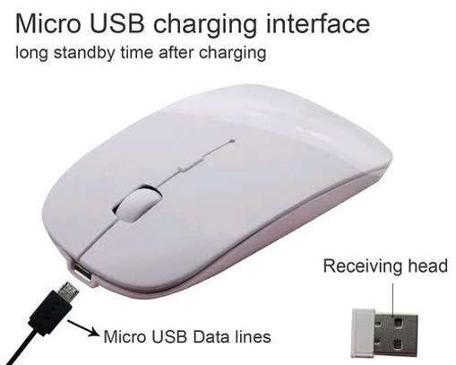 Electric rechargeable mouse image 1
