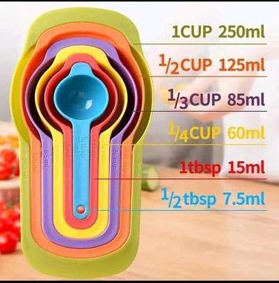 Measuring Cups 6 pieces image 1
