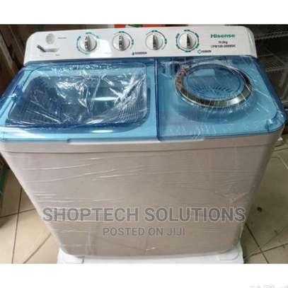 Hisense Washing Machine Twin Tub 7.5kg image 1