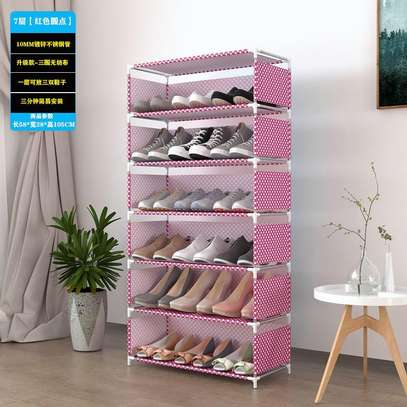 6 Tier Shoe Rack image 3