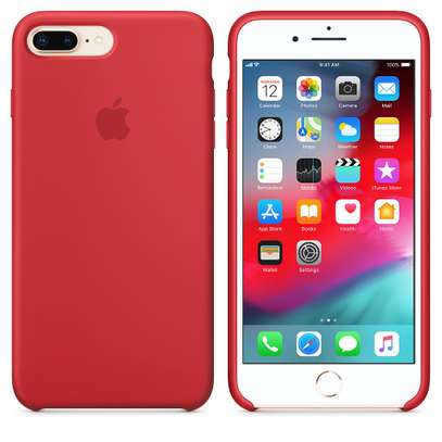 Silicone case with Soft Touch for iPhone 8/iPhone 8 Plus image 6