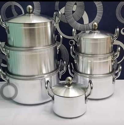 14 pcs aluminium cooking set image 1