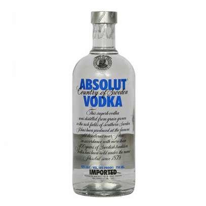 Absolut Blue Vodka 40% 75cl 750ml image 1