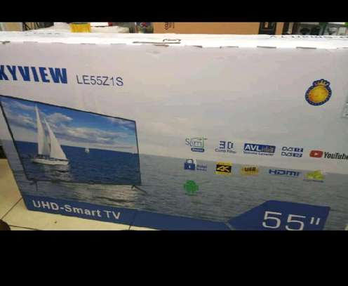 Skyview UHD SMART 4k 55INCH TV image 1