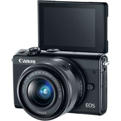 Brand New (37) Canon EOS M100 Mirrorless Digital Camera with 15-45mm Lens (Black) at Shop image 1