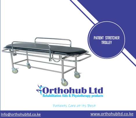 Patient Stretcher Trolley image 1
