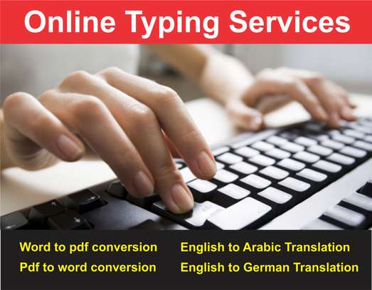 Online Documents Typing Services in Nairobi | PigiaMe