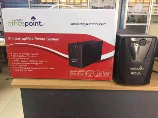 OfficePoint Back-Up UPS 650VA Black image 4