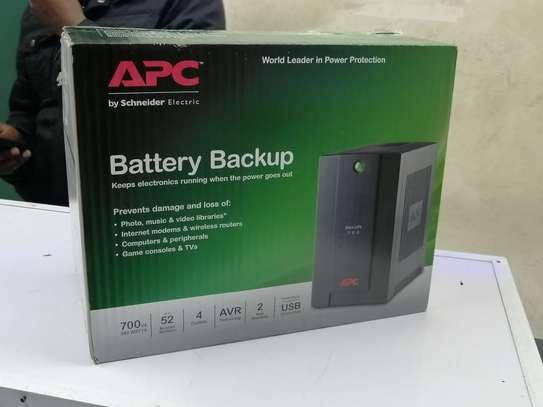 700VA APC Power Back up UPS 230V, AVR, IEC Sockets image 1