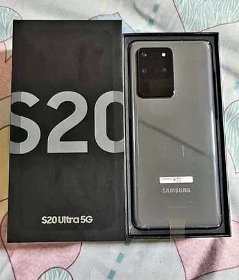 "Samsung Galaxy S20 Ultra - 6.9"" - 128GB + 12GB RAM - Dual SIM - Cosmic Black image 1"