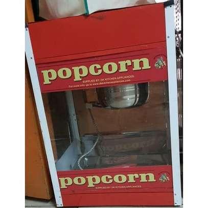 Popcorn Maker Machine with Stainless Steel Popcorn Scoop image 1
