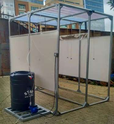 Large Size Automated Booth