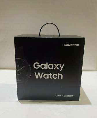 Samsung Galaxy Watch 42mm (Midnight Black) - Boxed&Sealed image 1