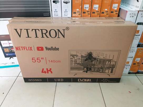 VITRON 55INCH smart 4k android tv image 1