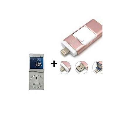 mk 1020 Fridge Guard + Free 3 In 1 64Gb Flash Disk image 1