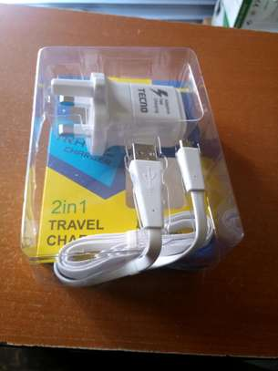 TECNO 2 in 1 Fast Charger