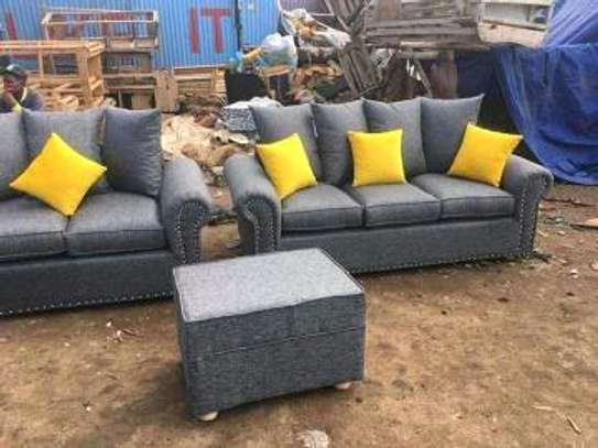 Grey five seater image 1