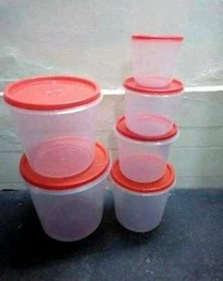 Cereal container/6pc big cereal container