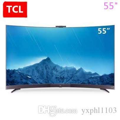 TCL digital smart curved 4k 55 inches image 1