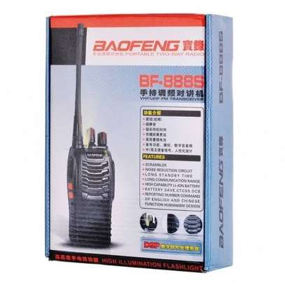 BF-888S is a full featured two way radio and hand held transceiver with long range capabilities up to 6km image 1