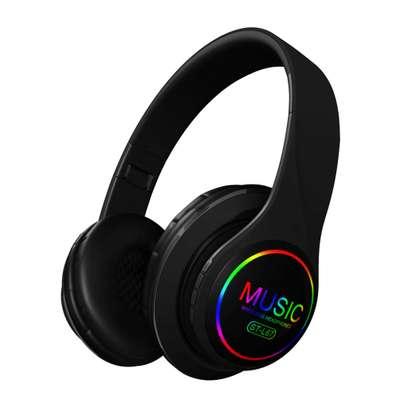 Bluetooth Stereo Headset ST-L67 LED Light Music Hi-Fi Sound image 1