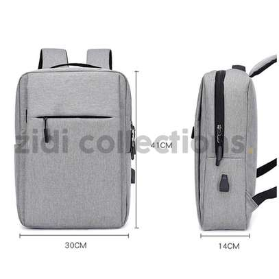 Quality Anti-Theft Laptop Backpack With USB Charging Support image 4