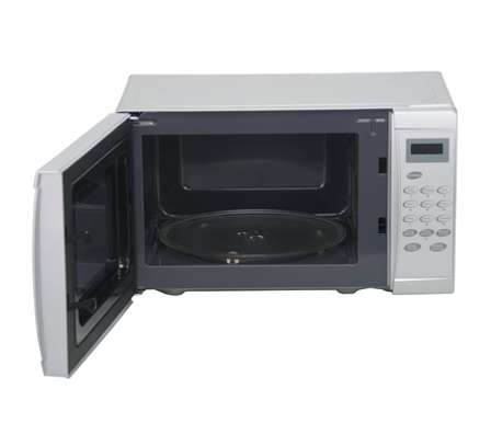 Microwave Oven, 20L, Digital Control Panel, Silver image 2
