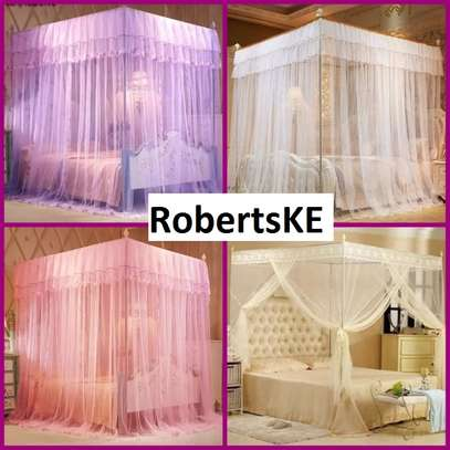 pink Mosquito nets image 1