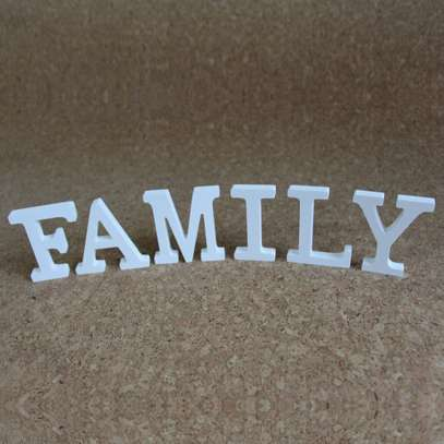 Family Free standing Letters