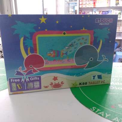 Kids Tablet New 8gb 1gb ram 7inch(Atouch K88) with gifts image 1