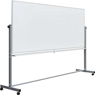 Portable double-sided Whiteboard 8*4FT image 2