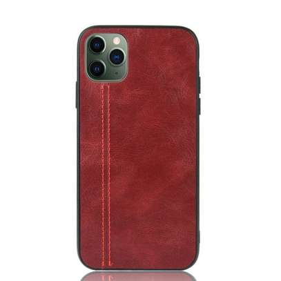 IPhone 11 Pro Max Case Rugged Shield Leather Cover image 4