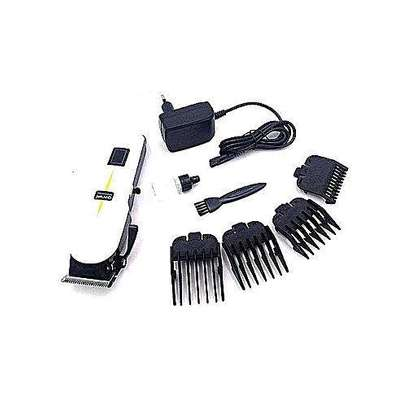 Progemei Electric Hair Clipper White- Kinyozi Professional Hair Clipper image 1
