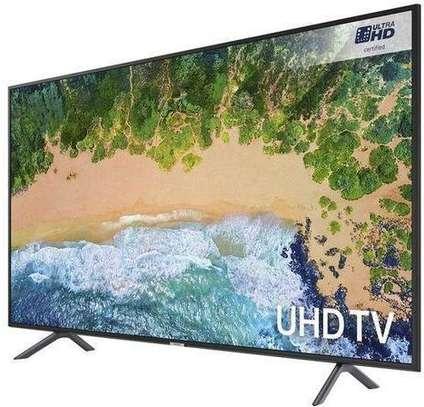Samsung 75 inch Ru7100 Flat Smart 4K UHD TV image 1