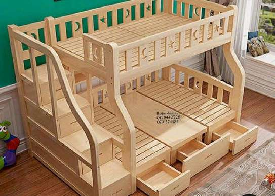 beds/bunk beds/ kid's Furniture/baby beds image 1
