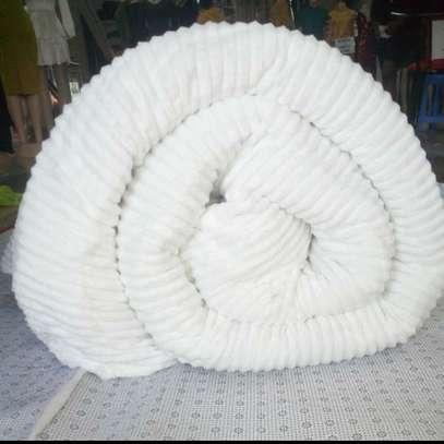 Unique white Velvet Duvet image 1