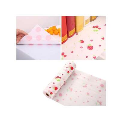 Kitchen cabinet and drawers liners , waterproof re usable Anti-oil Drawer Paper Drawer paper Home Wardrobe Pad Cabinet Mat Kitchen Gadgets Tools-0.3-3Metres long image 2
