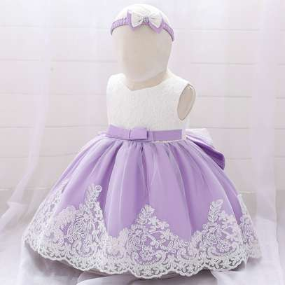 Multi-layer Girl's Dress  (3months-2yrs) image 3