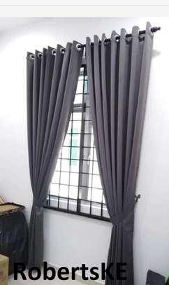 grey curtain image 1