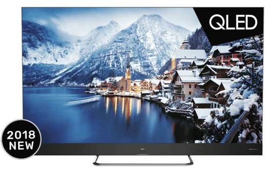 TCL 55 inches C8 Q-LED Android Smart UHD-4K Digital TVs 55C815 image 1