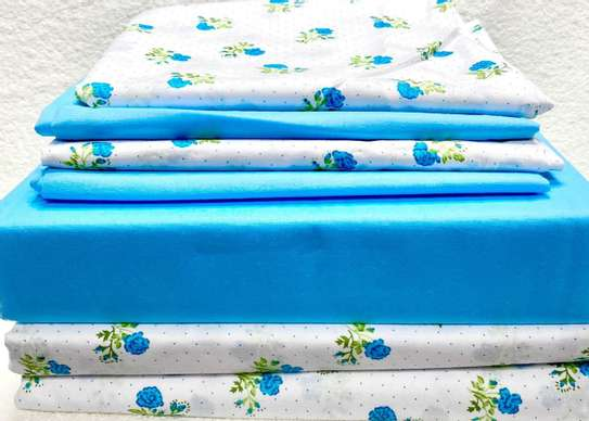bed sheets 5 by 6  royal blue image 1
