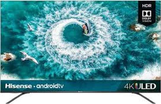 New 65 inches Hisense Android UHD-4K Frameless Smart Digital Tvs image 1