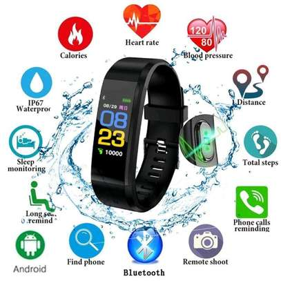 115 PLUS Smart Watch Heart Rate Smartwatch Sport Watch for ios android image 1