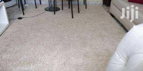 Cream carpet. For sale 7 by 10 image 1