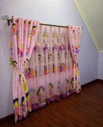 Cartoon themed curtains image 4