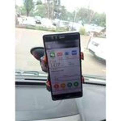 Universal Plastic Car Phone Holder - Black. image 3
