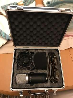 PROFESSIONAL USB MICROPHONE + FLIGHT-CASE AND ACCESSORIES