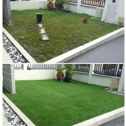 Quality grass carpet image 2