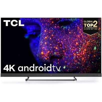 TCL 55'' 4K ULTRA HD QLED ANDROID TV, ONKYO SOUNDBAR YOU-TUBE C815 image 1